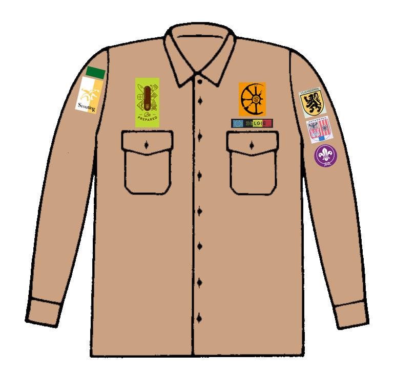 scoutshemd-kapoenen